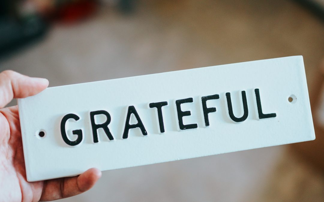 Is being grateful holding you back in your career?